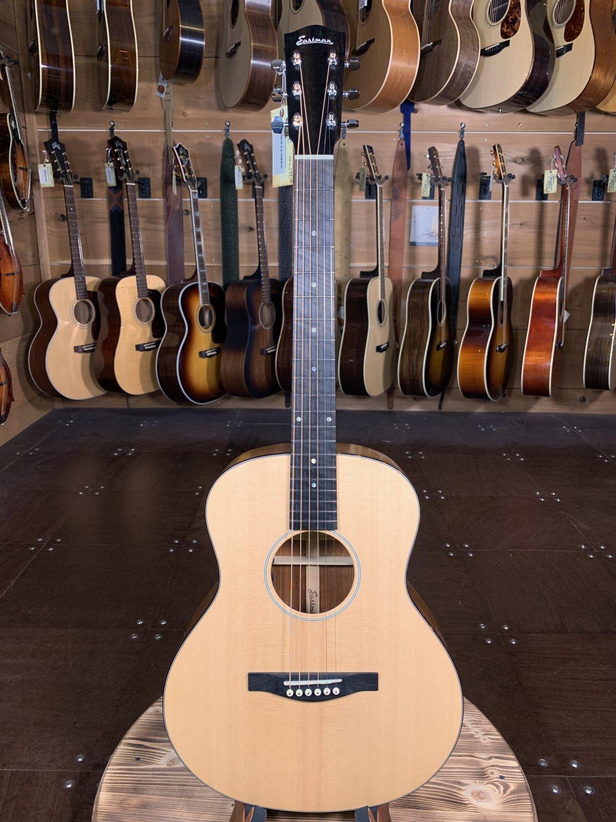 Eastman ACTG2E-OV Travel Acoustic w/ Sitka Top & Ovangkol Back/Sides #5507