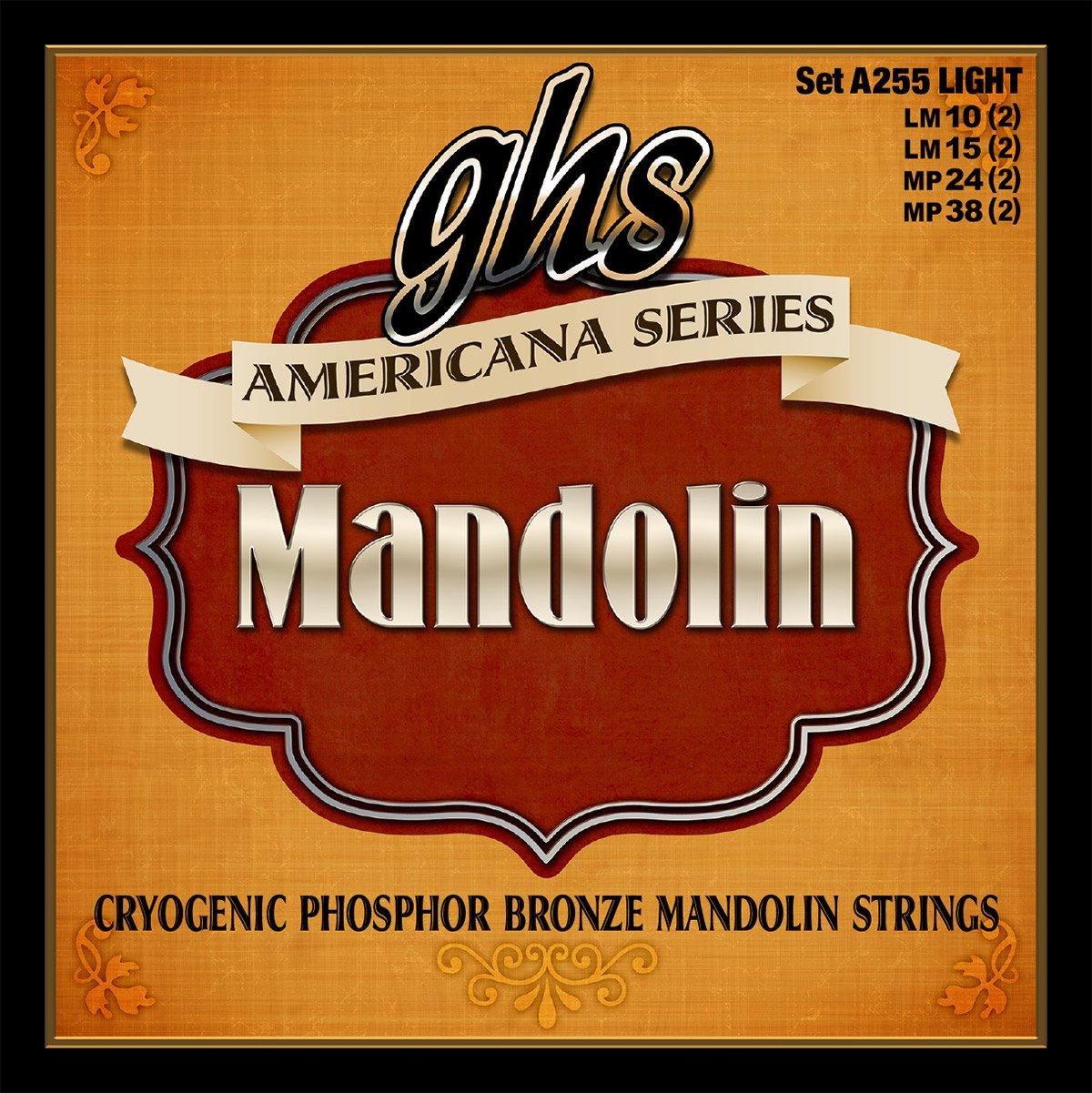 GHS Americana Series Light Mandolin Strings (A255)