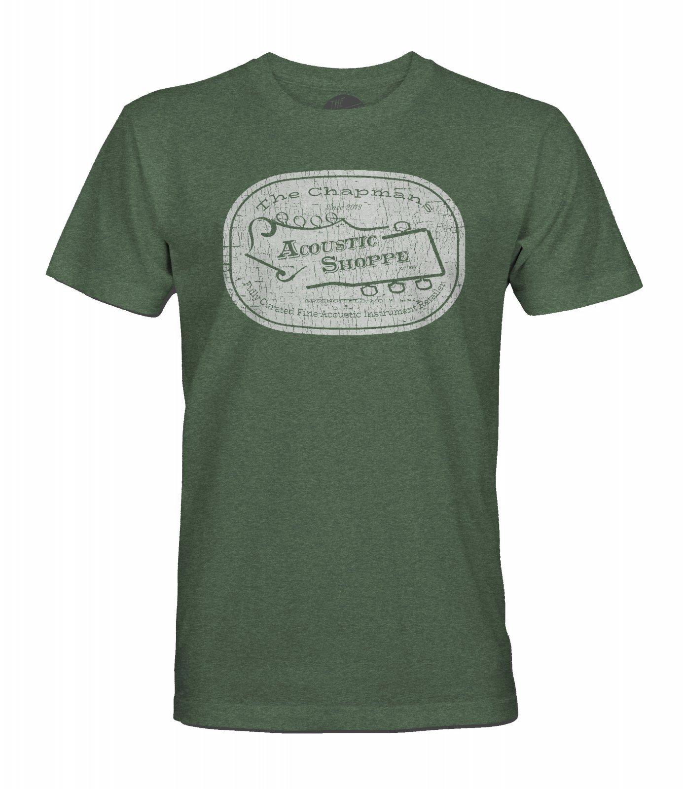 The Acoustic Shoppe Vintage Logo Design T-Shirt
