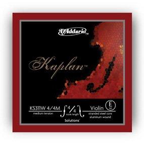 D'Addario Kaplan KS311W Wound E String 4/4M