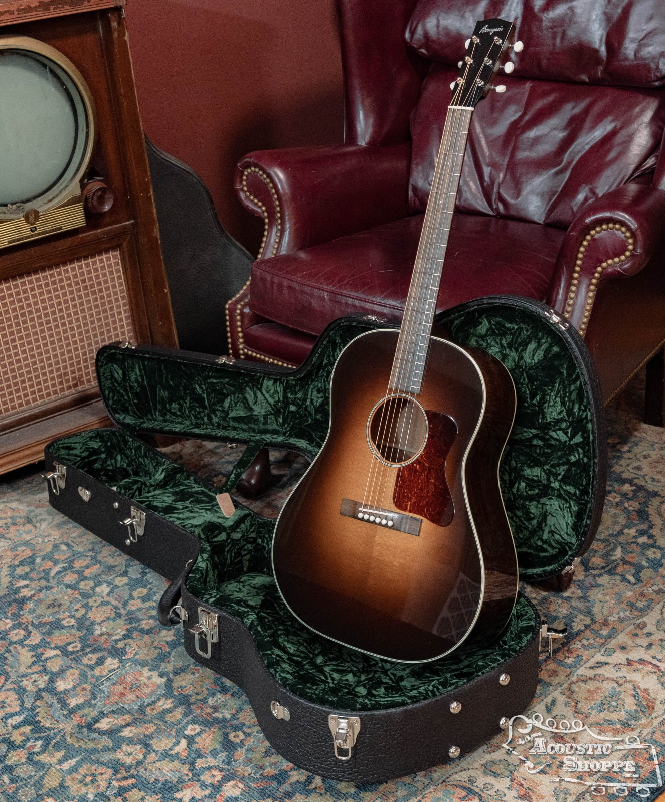 Bourgeois SD Standard Heirloom Series Aged Tone Adirondack/Mahogany #9162