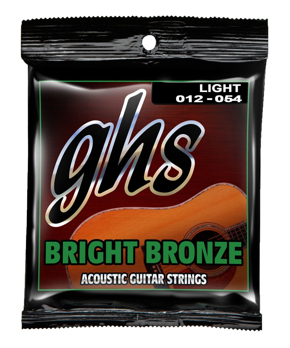 GHS BB30L Bright Bronze Light Acoustic Guitar Strings