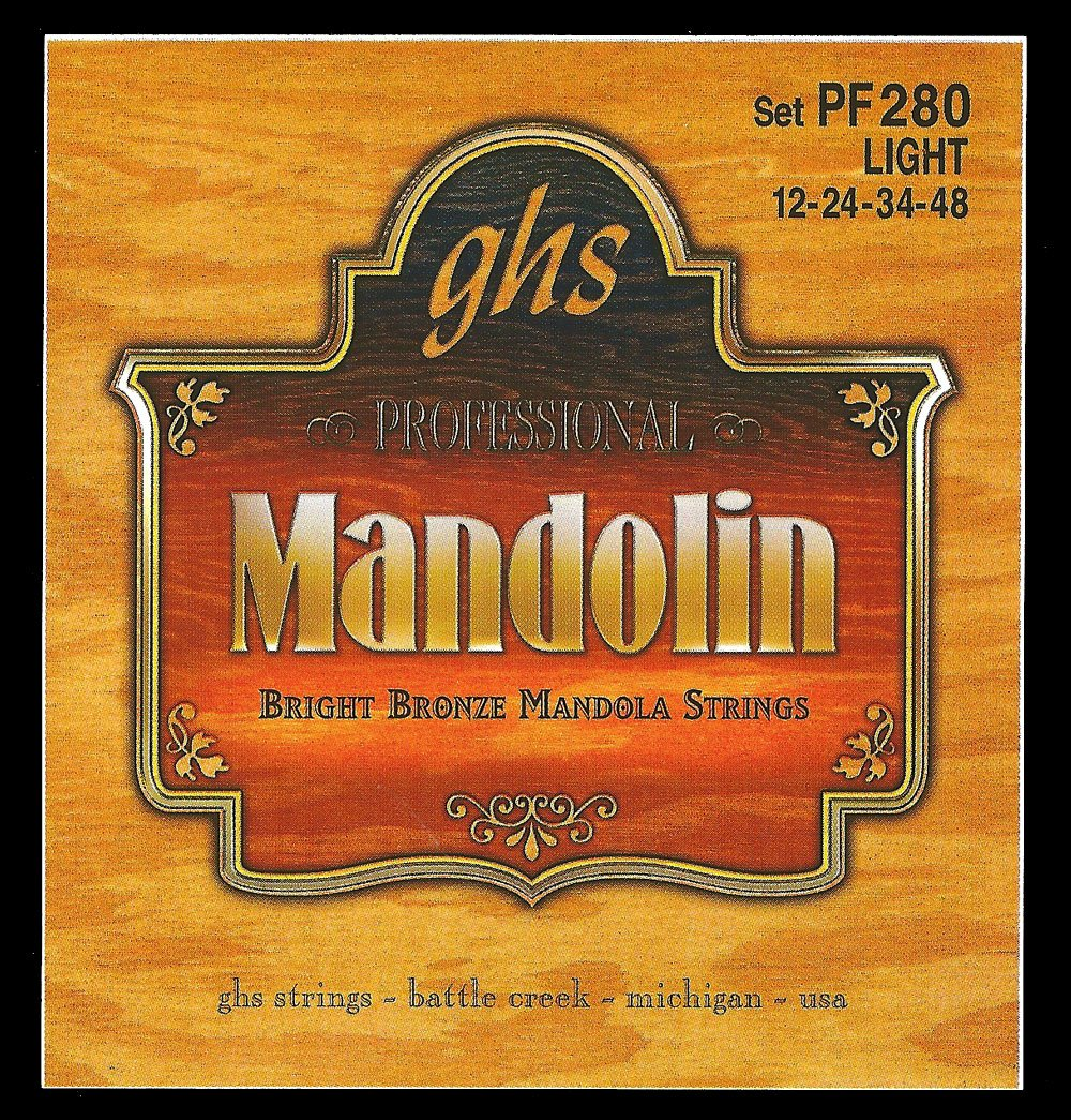 GHS Bright Bronze Mandola - Loop End Light Strings (PF280)
