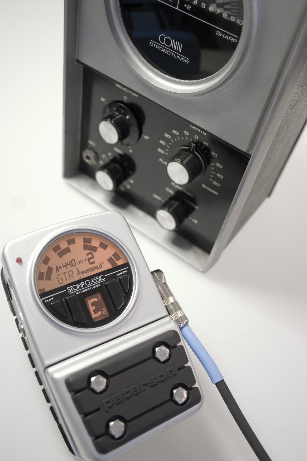 Peterson Stomp Classic Pedal Tuner / Active DI (VSS-C)