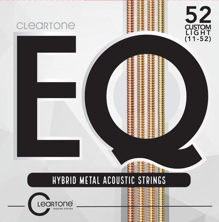 (NR) Cleartone EQ Hybrid Metal Acoustic Strings (7812)