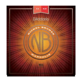 D'Addario Nickel Bronze Mandolin Set Medium 11-40 (NBM1140)