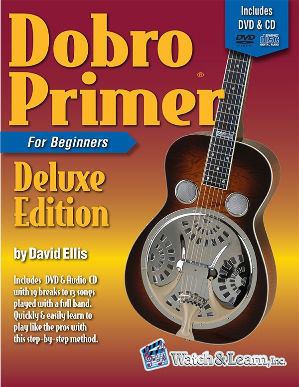 Dobro Primer for Beginners Deluxe Edition Book / DVD / CD