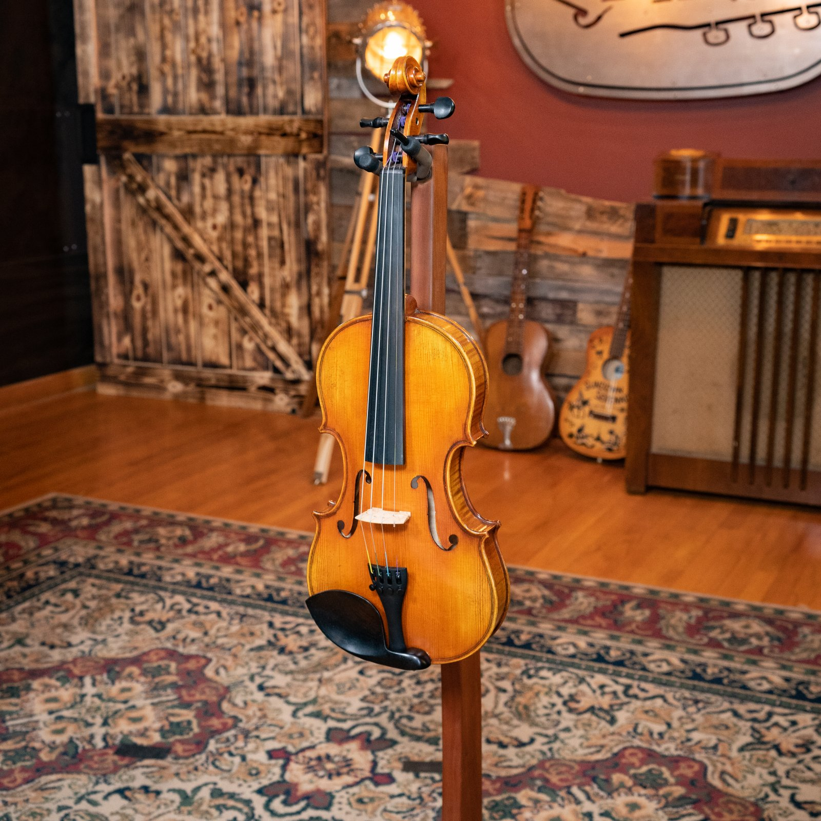 Eastman VLF3 Master Hand-Carved Pro Fiddle / Violin Outfit w/ Fishman Pickup #4780