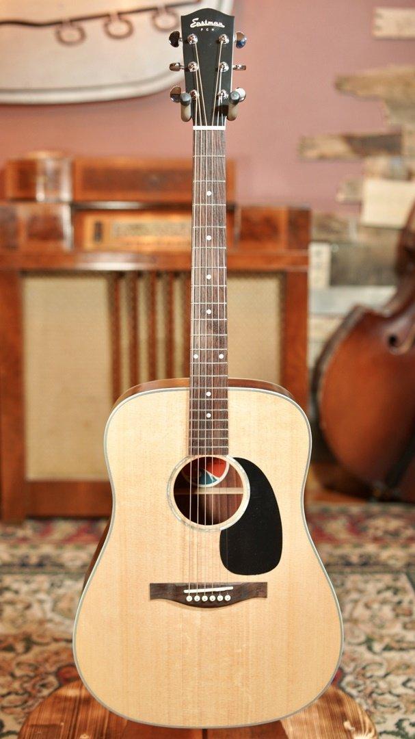 Eastman PCH2-D Solid Top Natural Dreadnaught Guitar w/ Free Gig Bag #0698