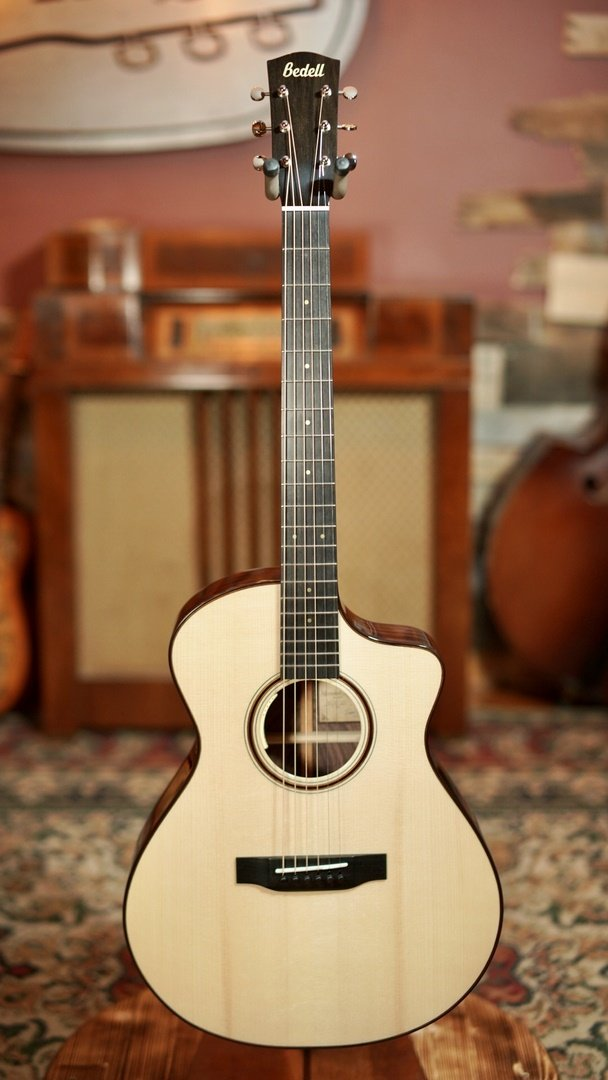 Bedell Limited Edition Orchestra Cutaway Adirondack/Figured East Indian Rosewood #520012