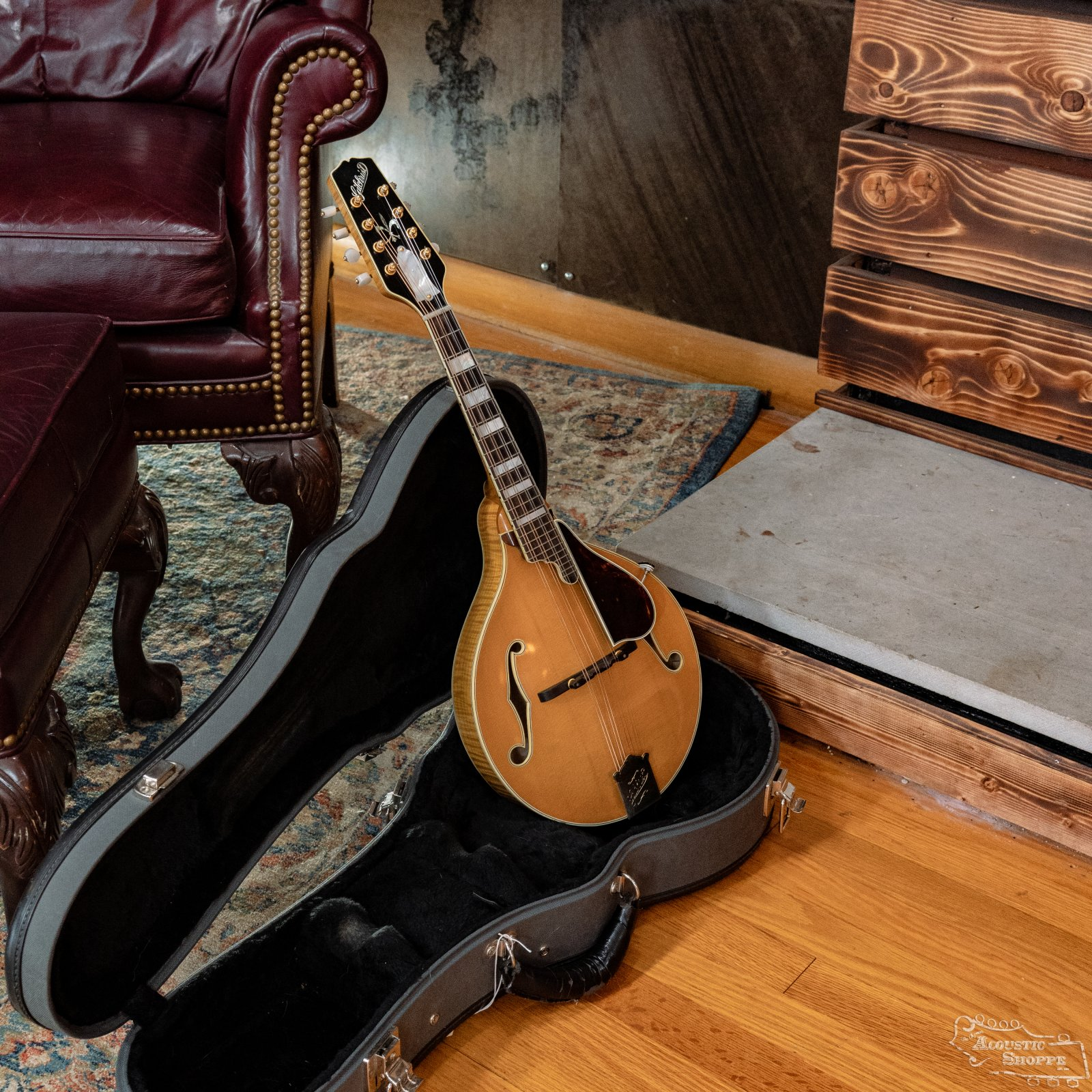 (Used) 1996 Gilchrist Model 3 Artist A-Style Mandolin *Originally Built for and Owned by David Grisman #6344