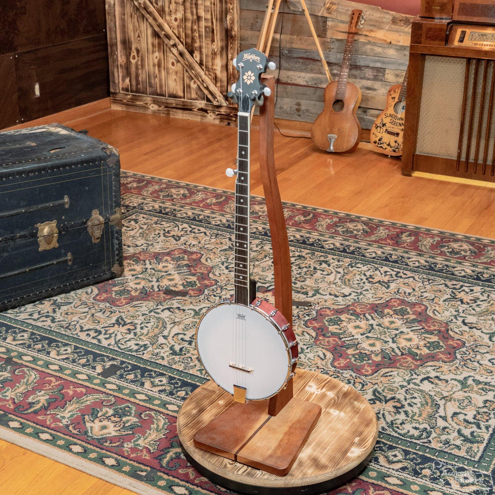 (Used) Washburn Americana B7 5-string Open-back Banjo