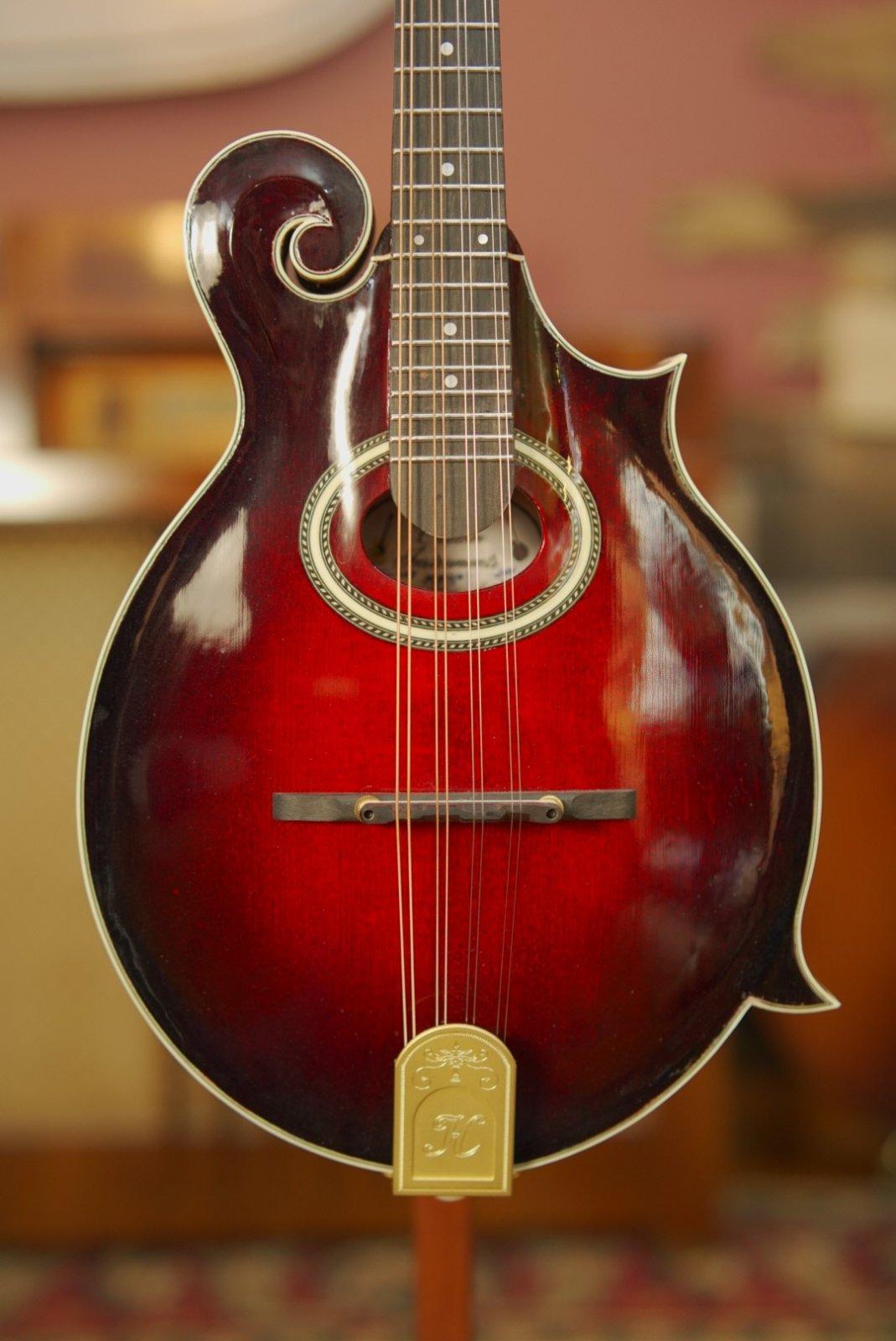 (Floor Model) Hinde MF4 #1 Oval-Hole F-Style Mandolin Adirondack/Curly Maple