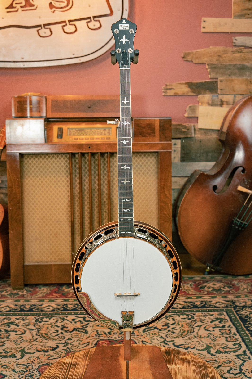 Recording King RK-R35-BR Resonator Banjo with Tone Ring #0180