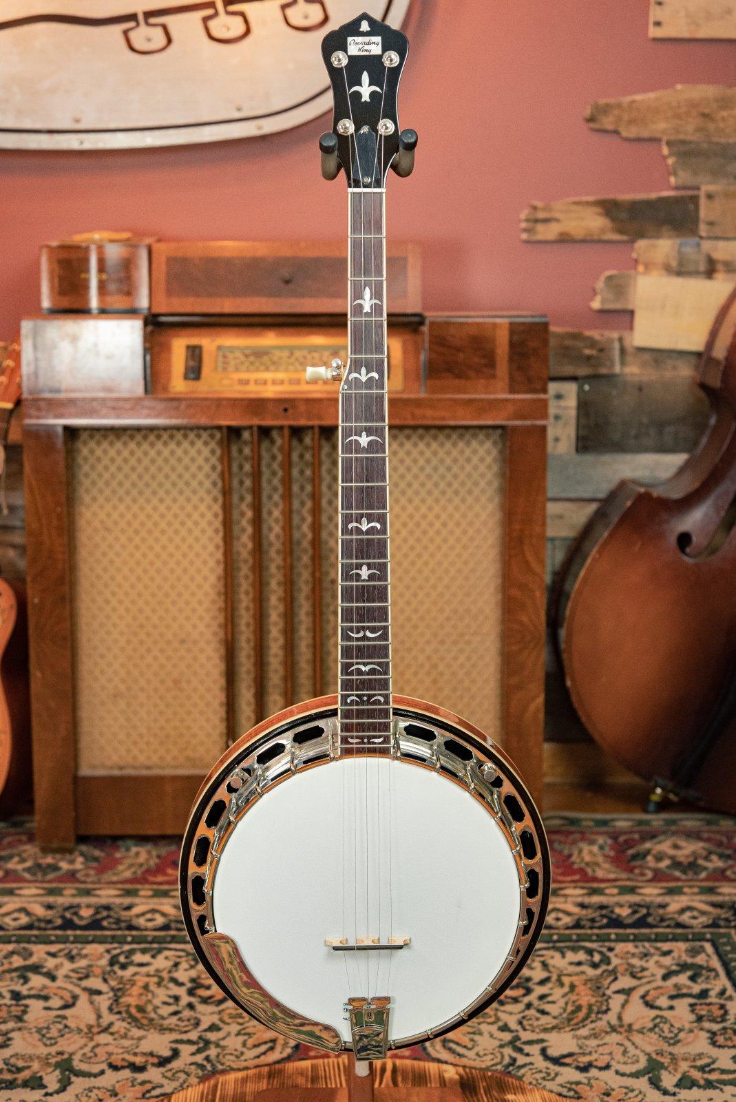 Recording King RK-R36-BR Madison Tone-Ring Mahogany Banjo