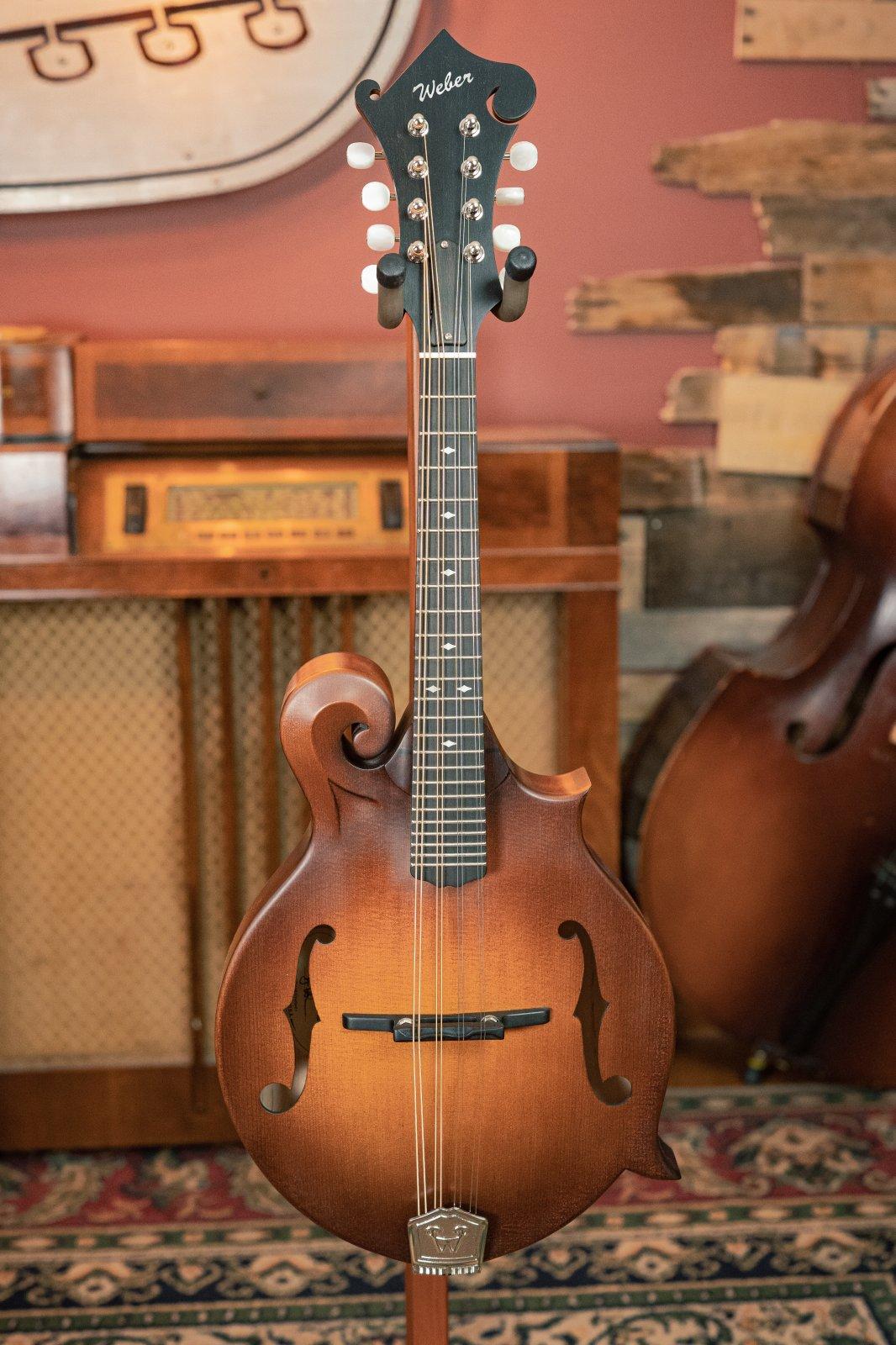 Weber Gallatin F14- F F-Style  Mandolin #5103