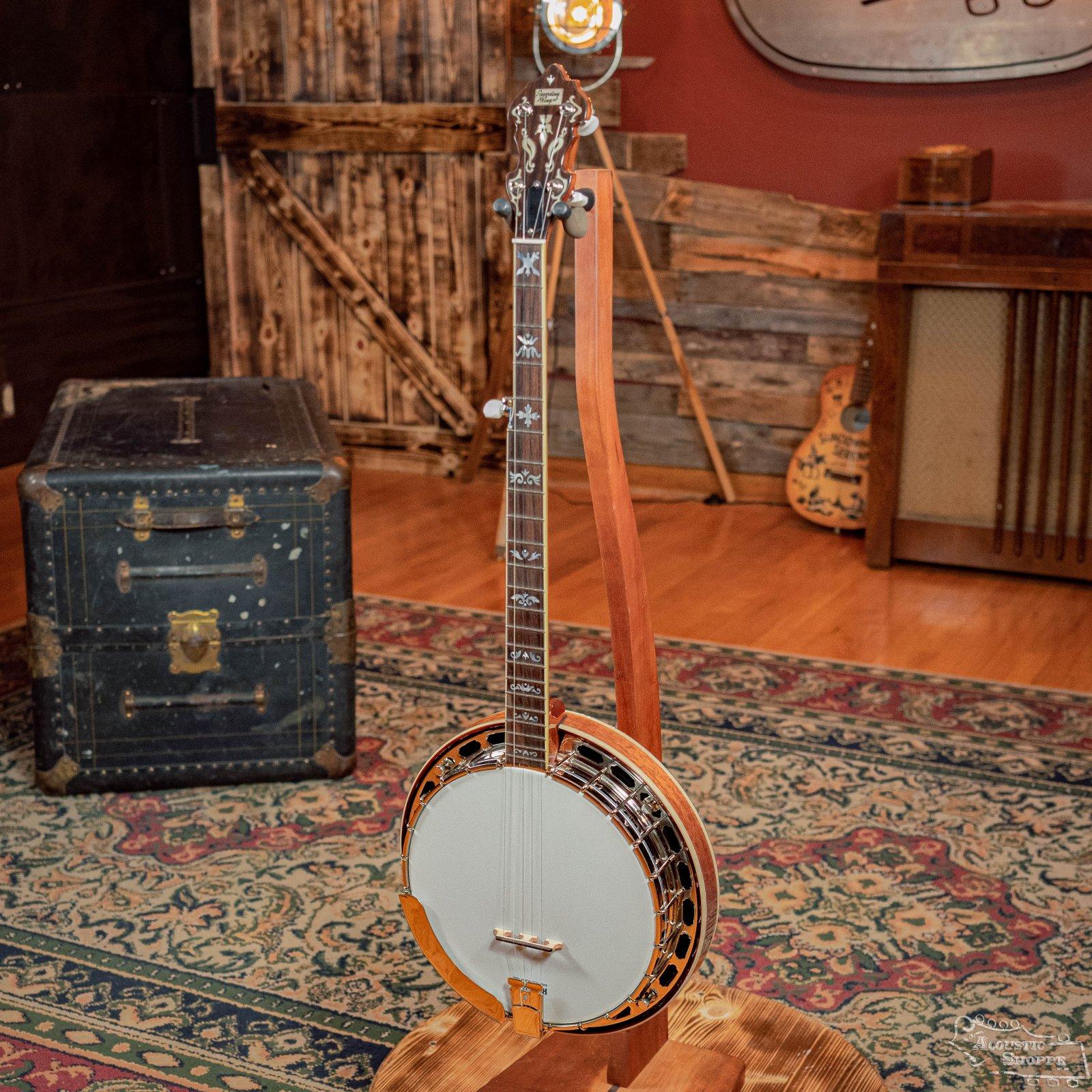 Recording King RK-ELITE-75 The Elite Flying Eagle Resonator Banjo #0254