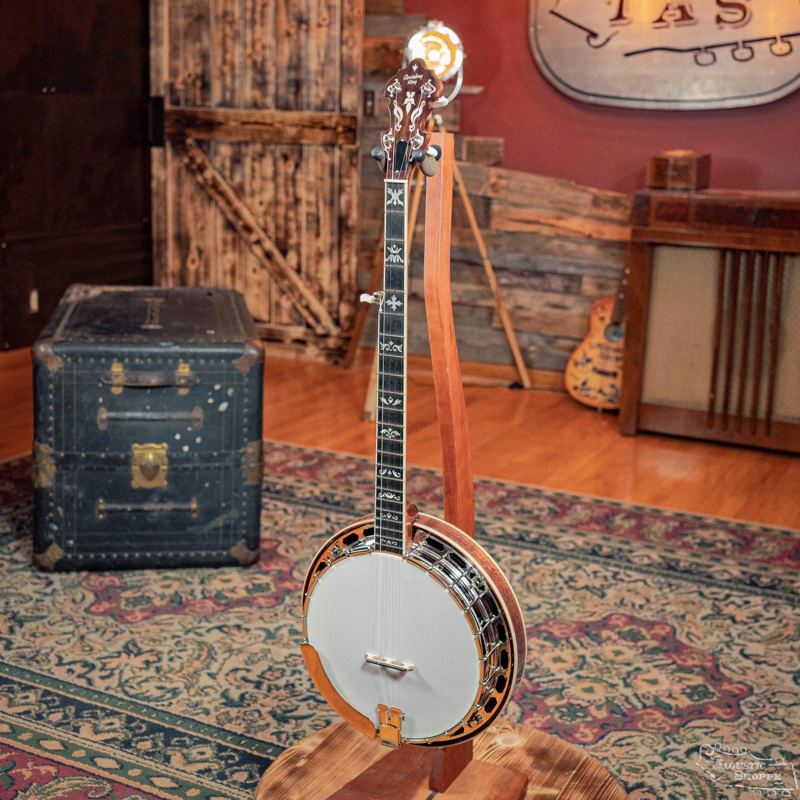 Recording King RK-ELITE-75 The Elite Flying Eagle Resonator Banjo #0252