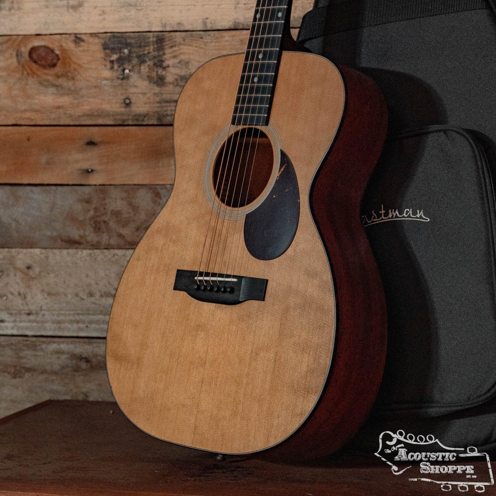 Eastman E1OM All Solid Sitka/Sapele Acoustic Guitar #7494