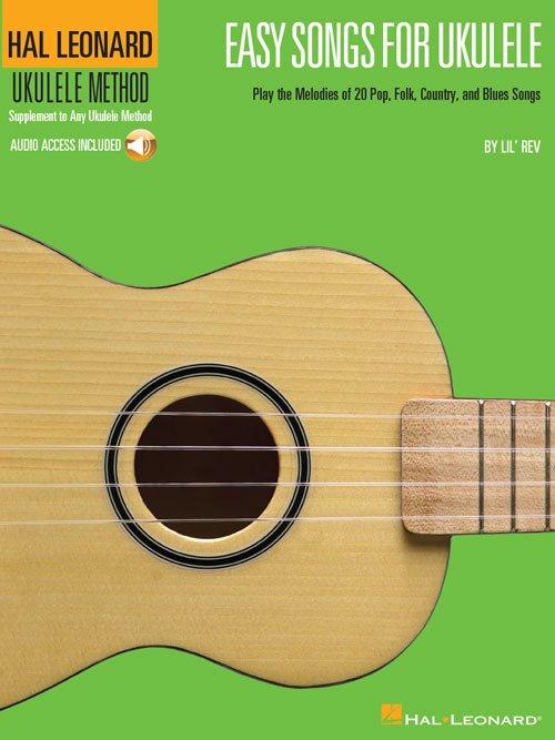 Easy Songs For Ukulele W/Audio (HL00695904)