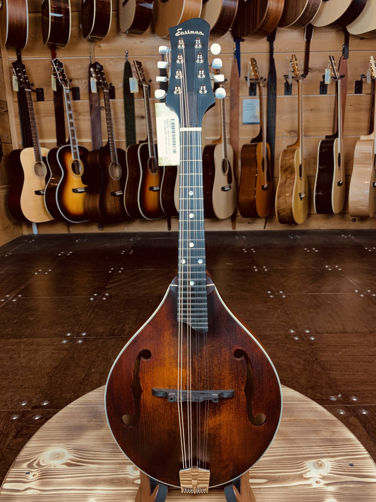 Eastman MD305 A-Style Hand-Carved Mandolin #2265