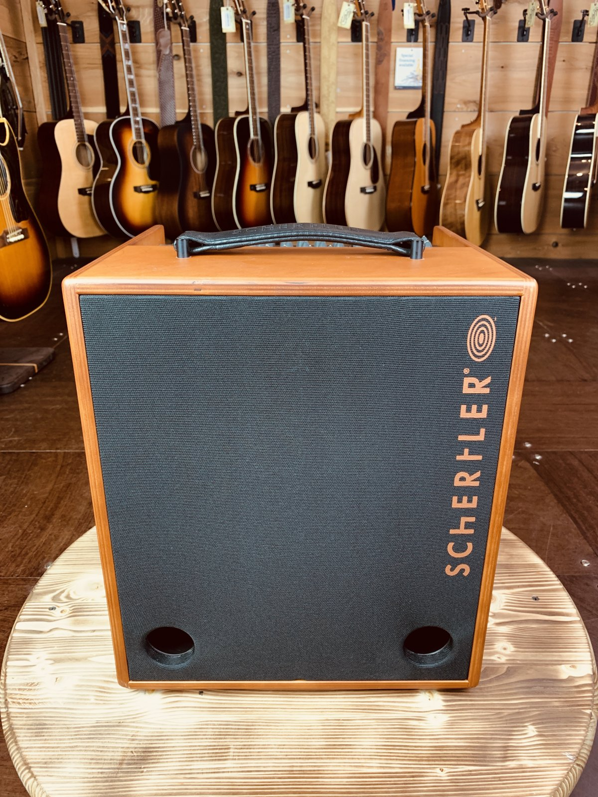 Floor Model Schertler Amp JAM (Wood) w/ Deluxe Bag