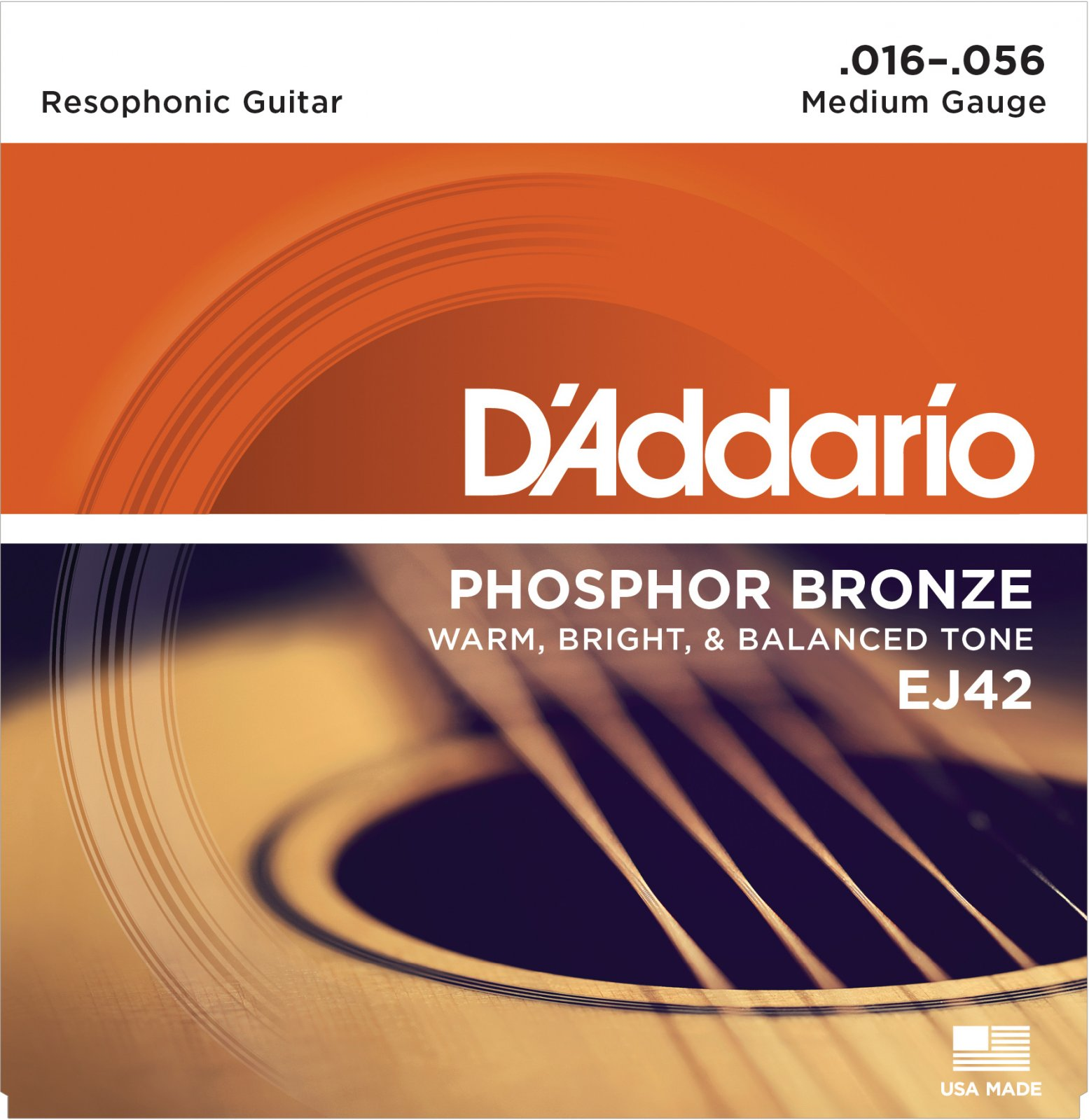 D'Addario EJ42 Resophonic Guitar Strings 16-56