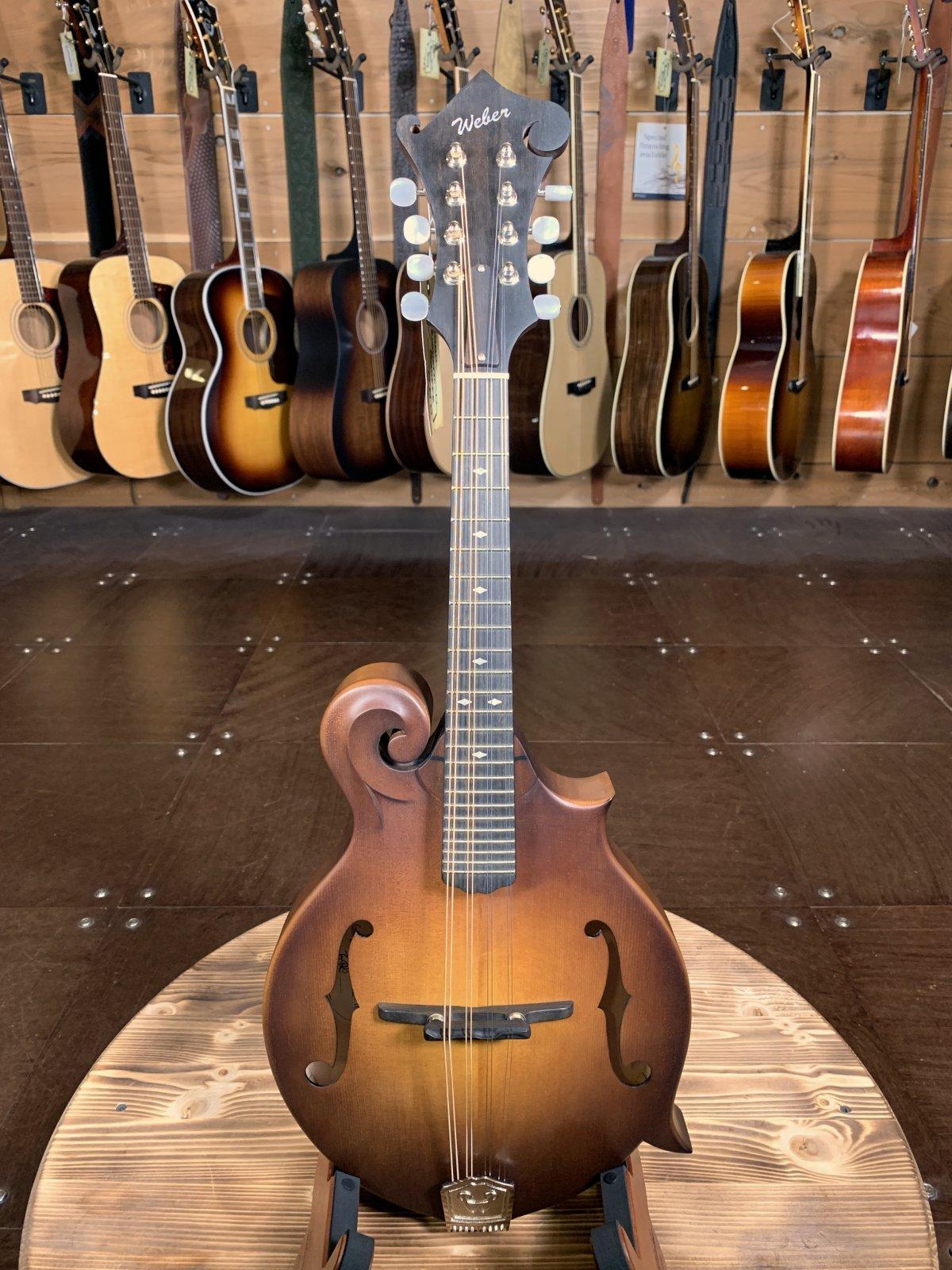 Weber Gallatin F14- F F-Style  Mandolin #4405