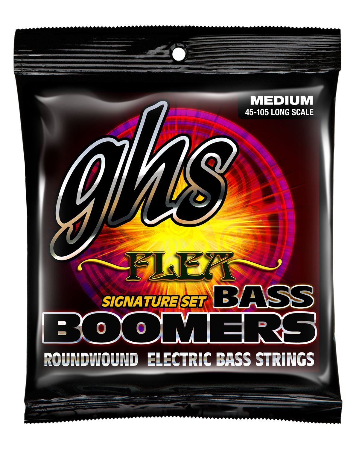 GHS Flea Signature Roundwound Electric Bass Strings (M3045F)