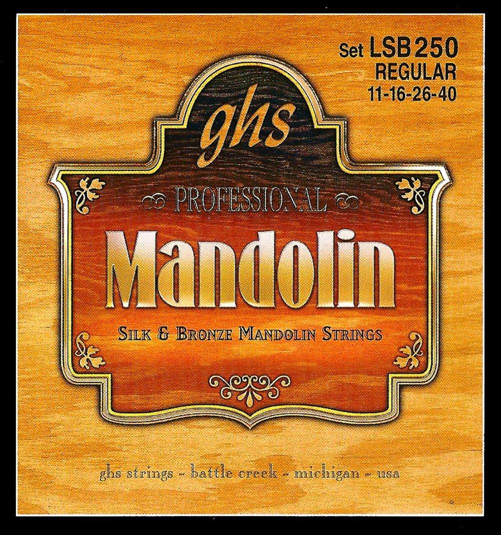 GHS Silk & Bronze Medium Mandolin Strings - LSB250