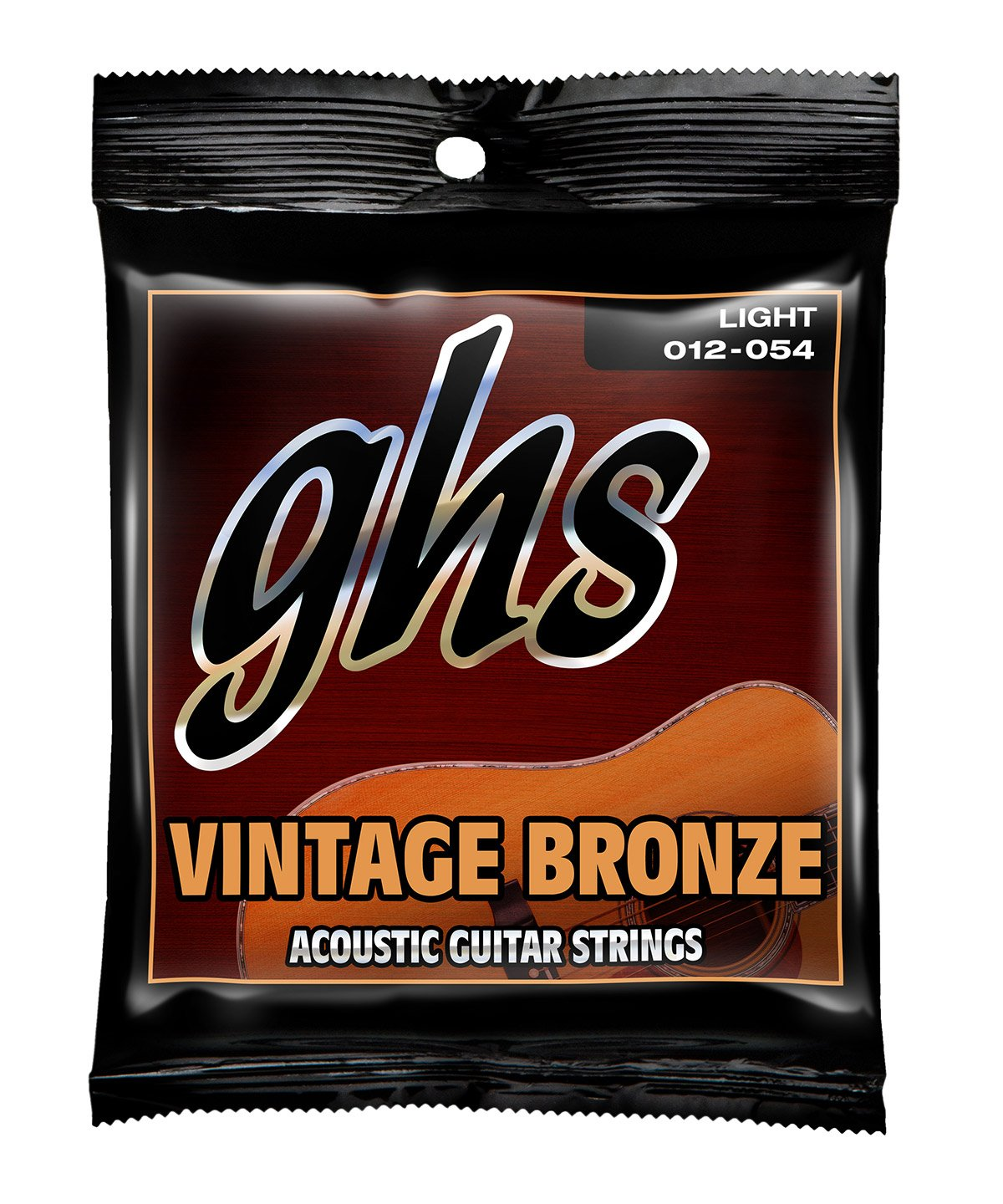 GHS Vintage Bronze Light Acoustic Guitar Strings (VN-L)