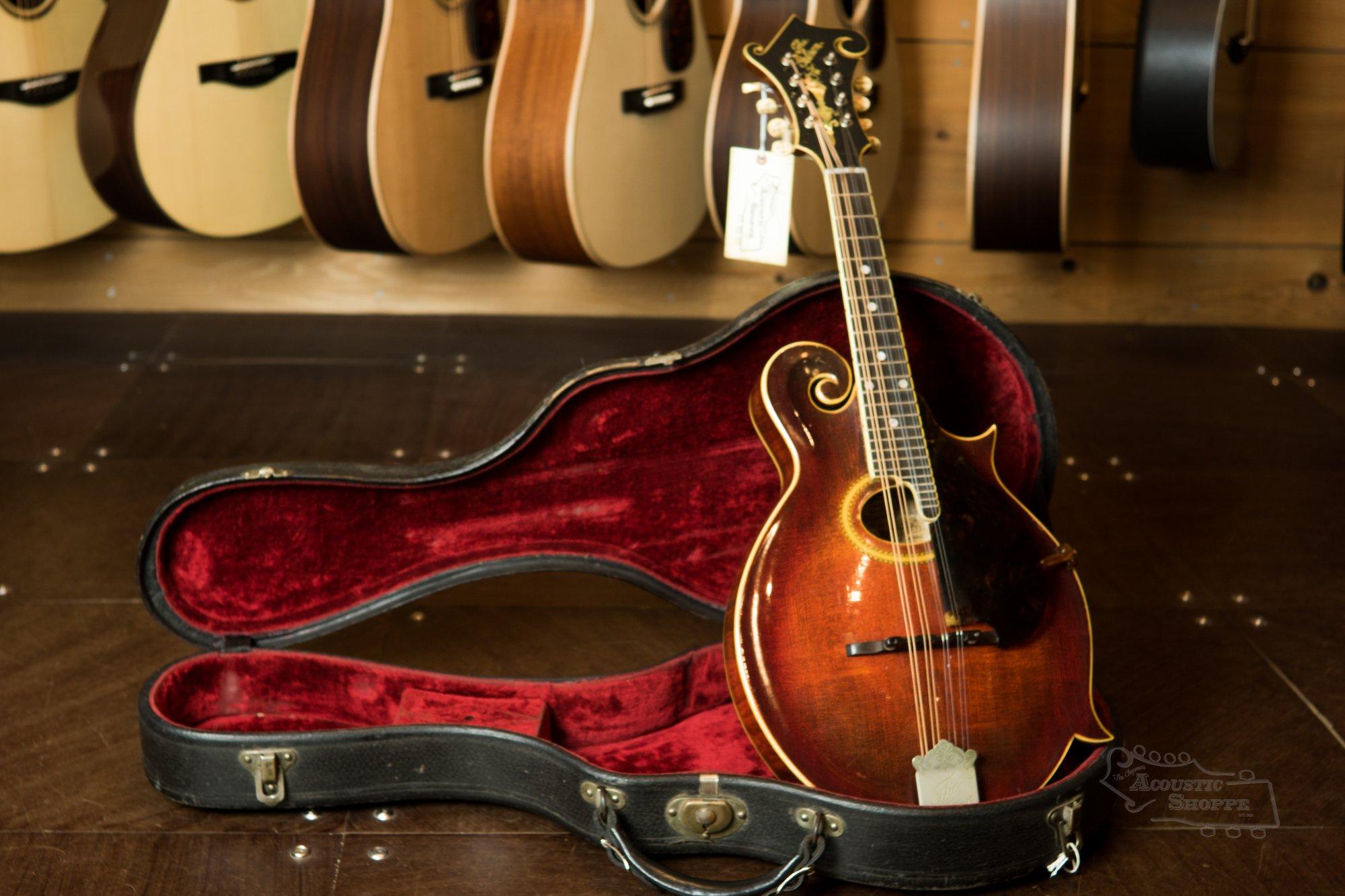 (Vintage) 1914 Gibson F4 Mandolin #19624