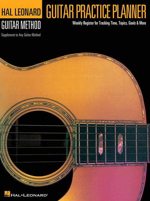 Guitar Practice Planner (HL00697401)