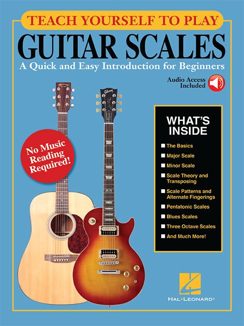 Teach Yourself to Play Guitar Scales A Quick and Easy Introduction for Beginners (HL00160293)