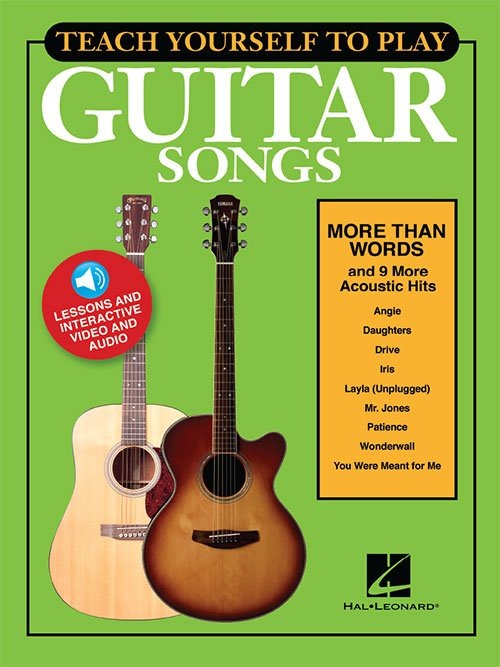 Teach Yourself to Play Guitar Songs: More Than Words & 9 More Acoustic Hits (HL00152225)