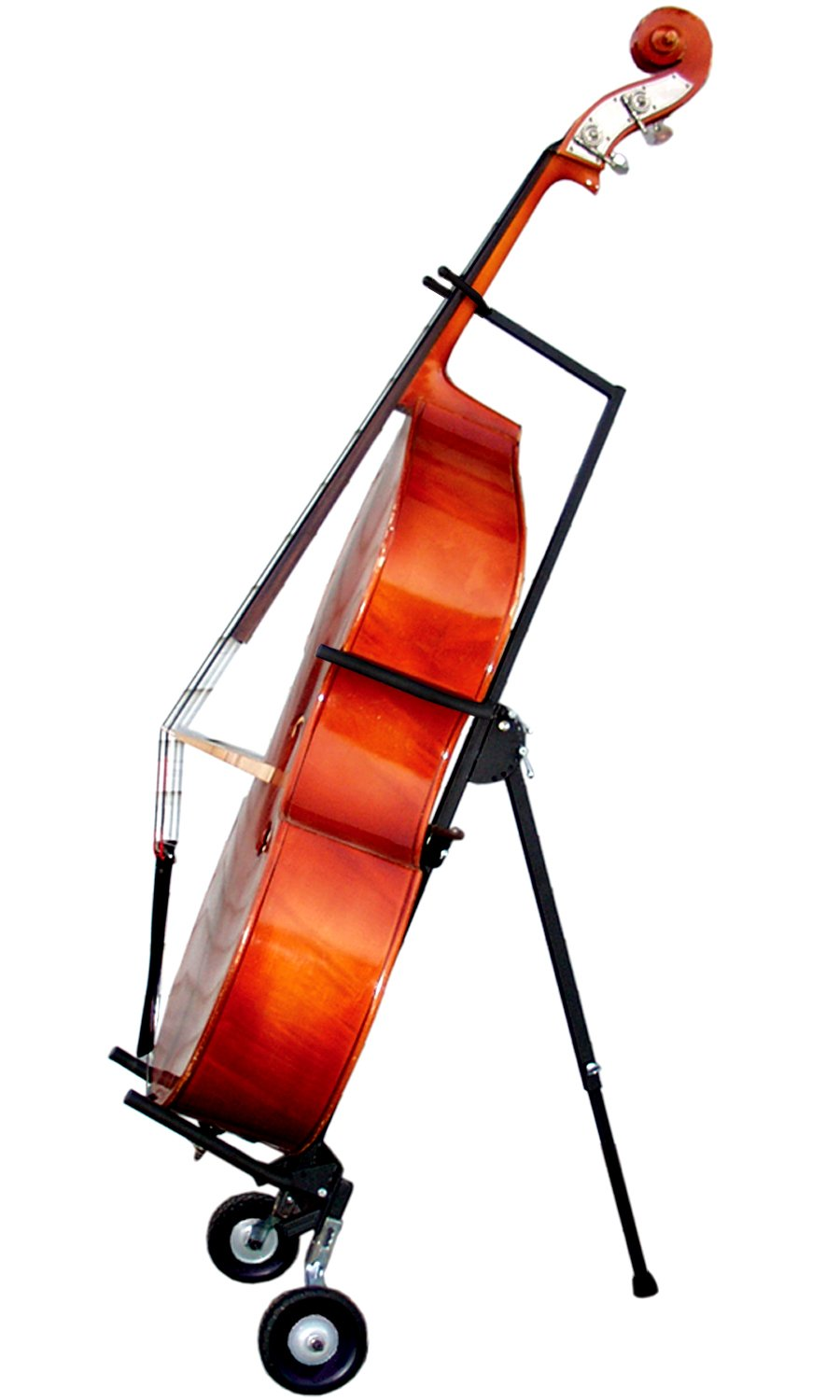 String Swing Upright Bass Floor Stand with Wheels (BHH101)