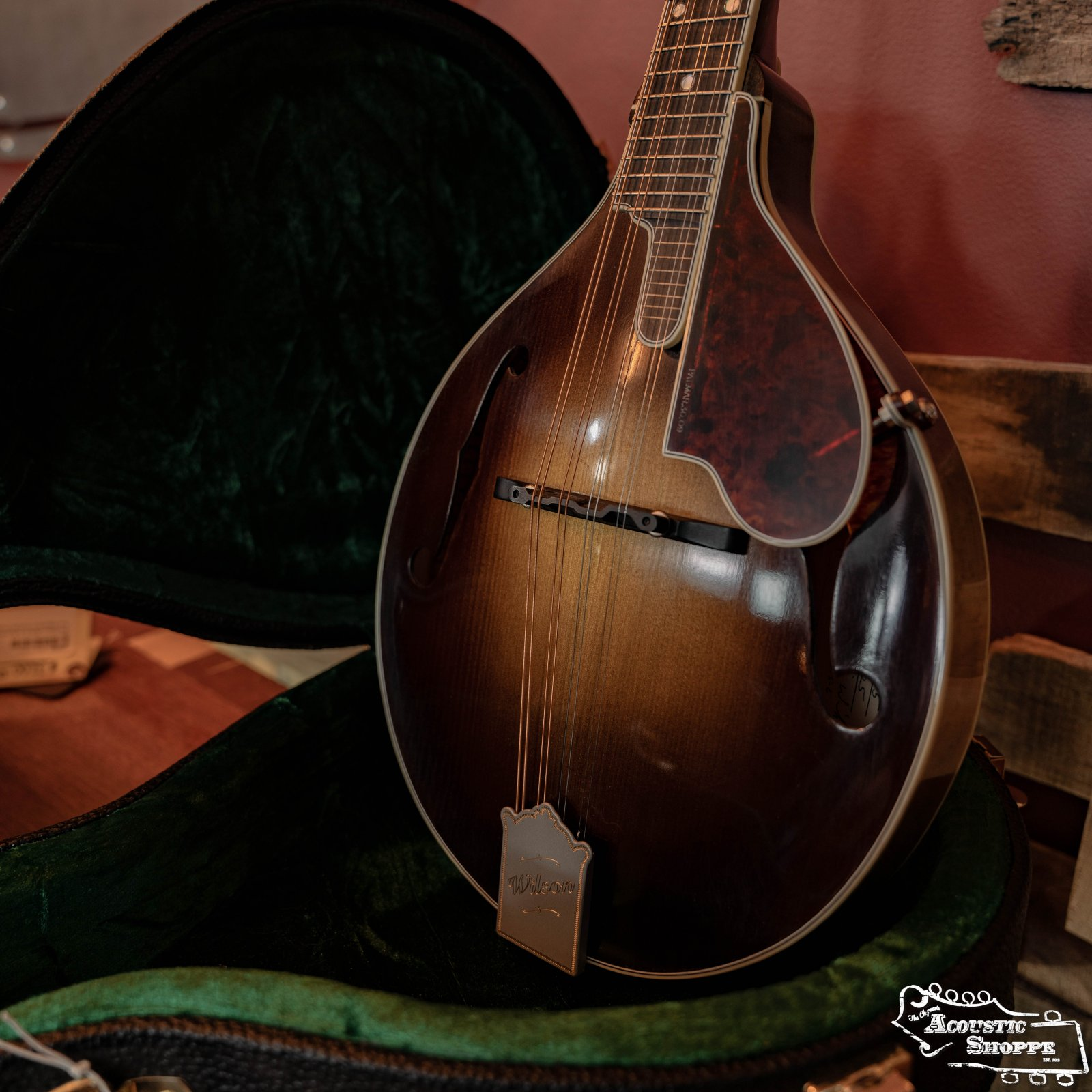 The Wilson (WA-5) A-Style Mandolin #025 w/Engleman Spruce Top & Maple Back & Sides