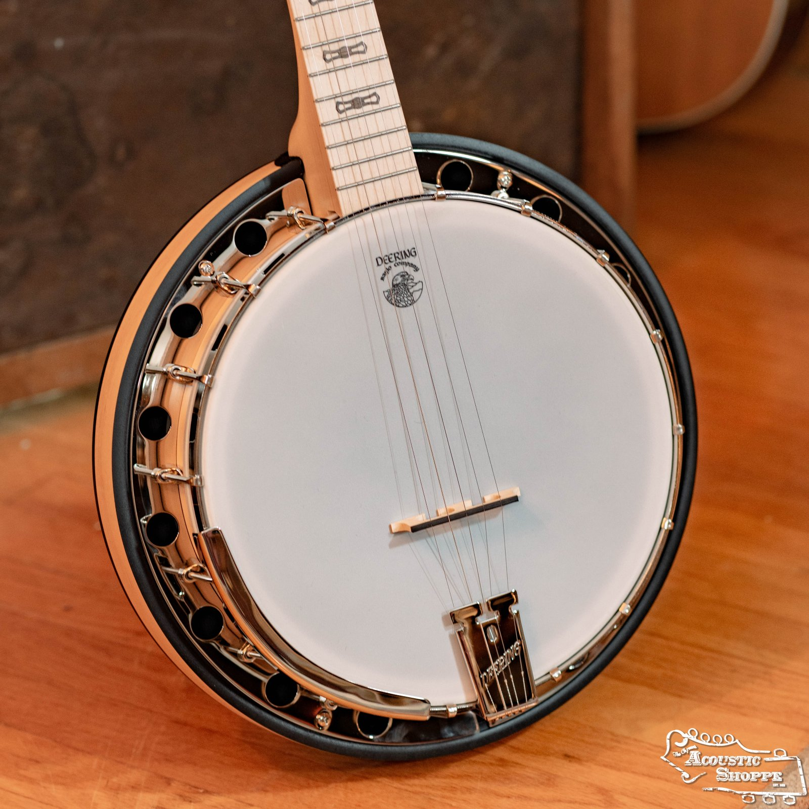 Deering Goodtime Two 5-String with Resonator (G2) #8821