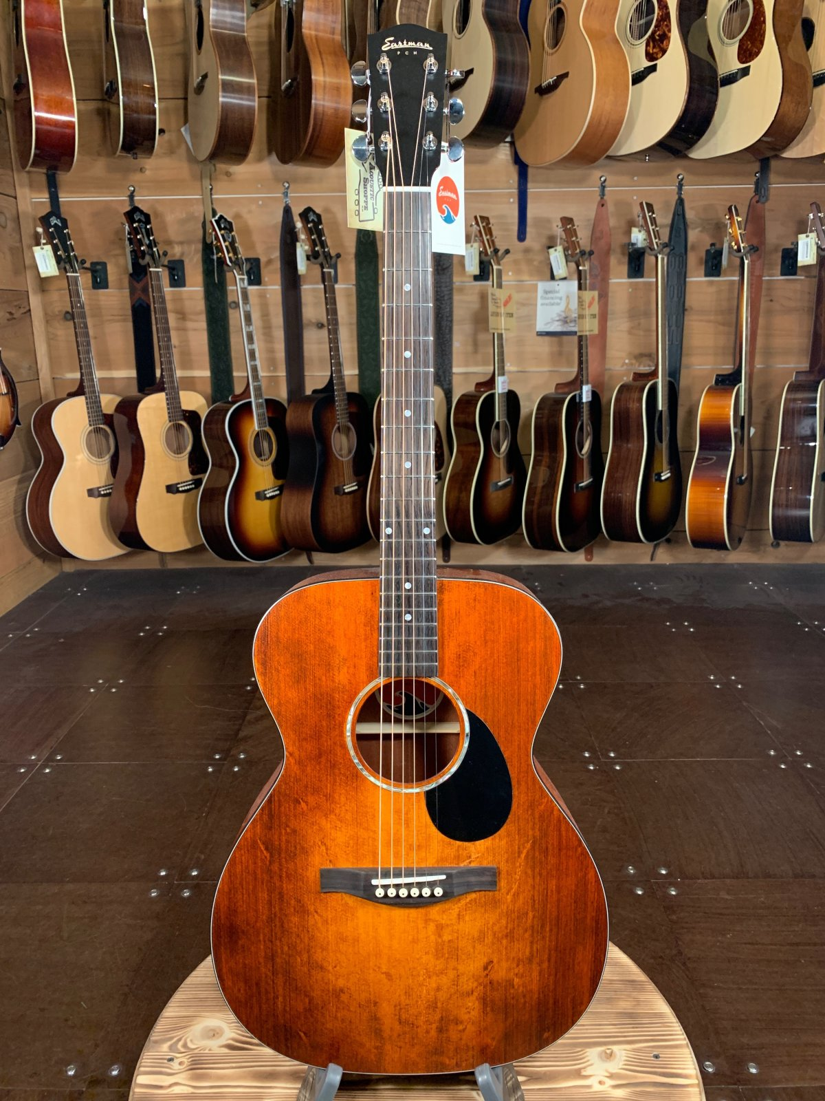 Eastman PCH1-OM-CLA Orchestra Model, Classic Finish Acoustic #0609