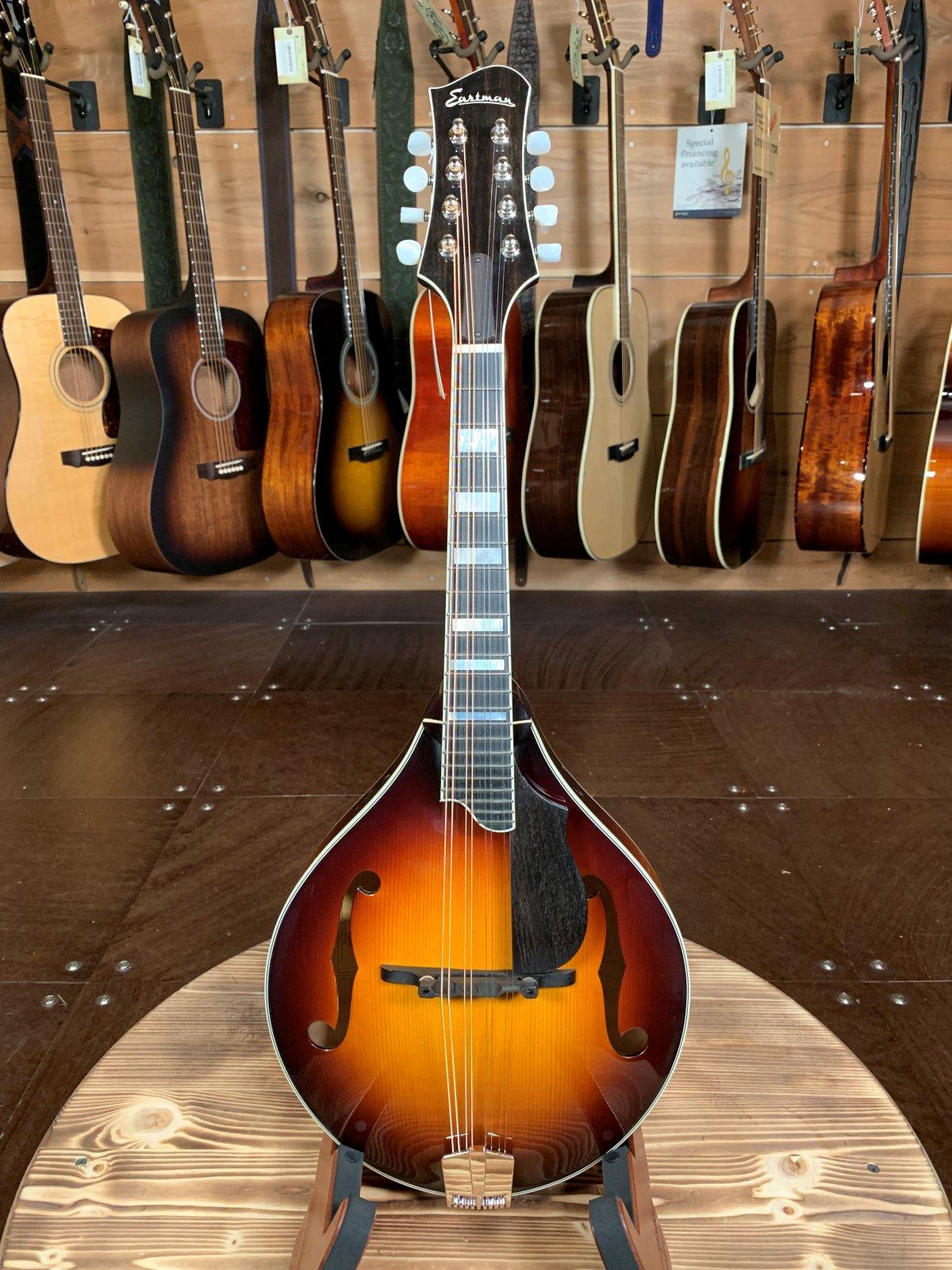 Eastman MD605-SB A-Style Hand-Carved Mandolin w/ K&K Pickup / Sunburst #2437