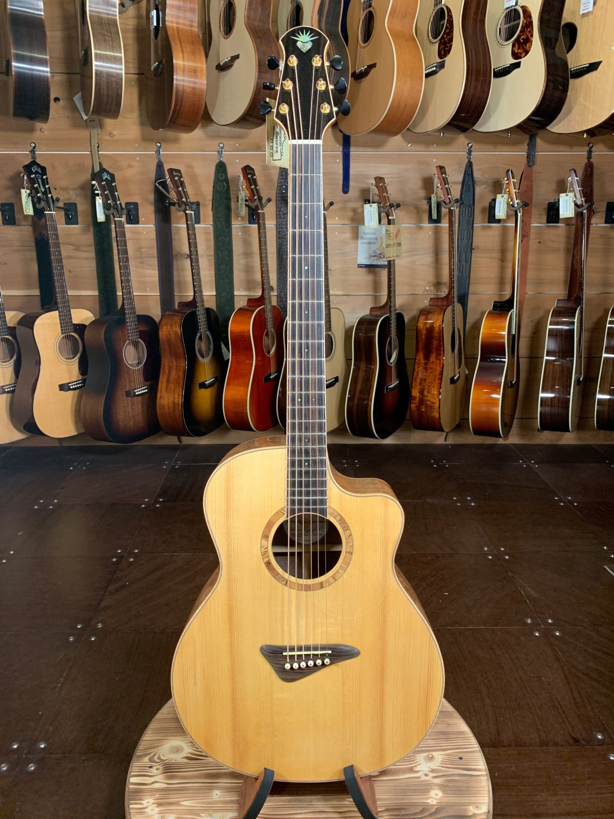 (Used) Kingslight Baritone Guitar JCB #23