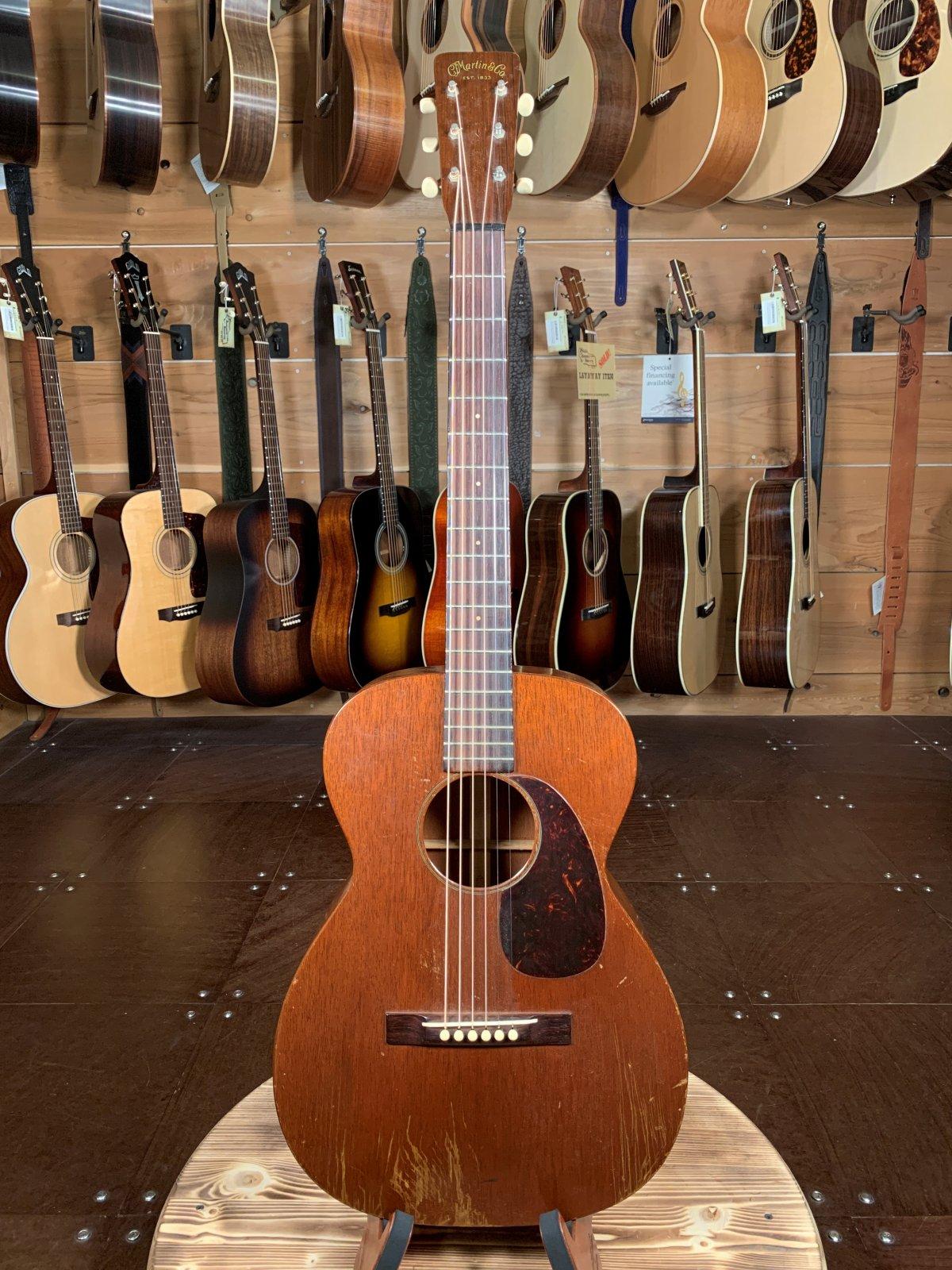 (Vintage) 1954 Martin 0-15 #136639 All Mahogany Acoustic Guitar