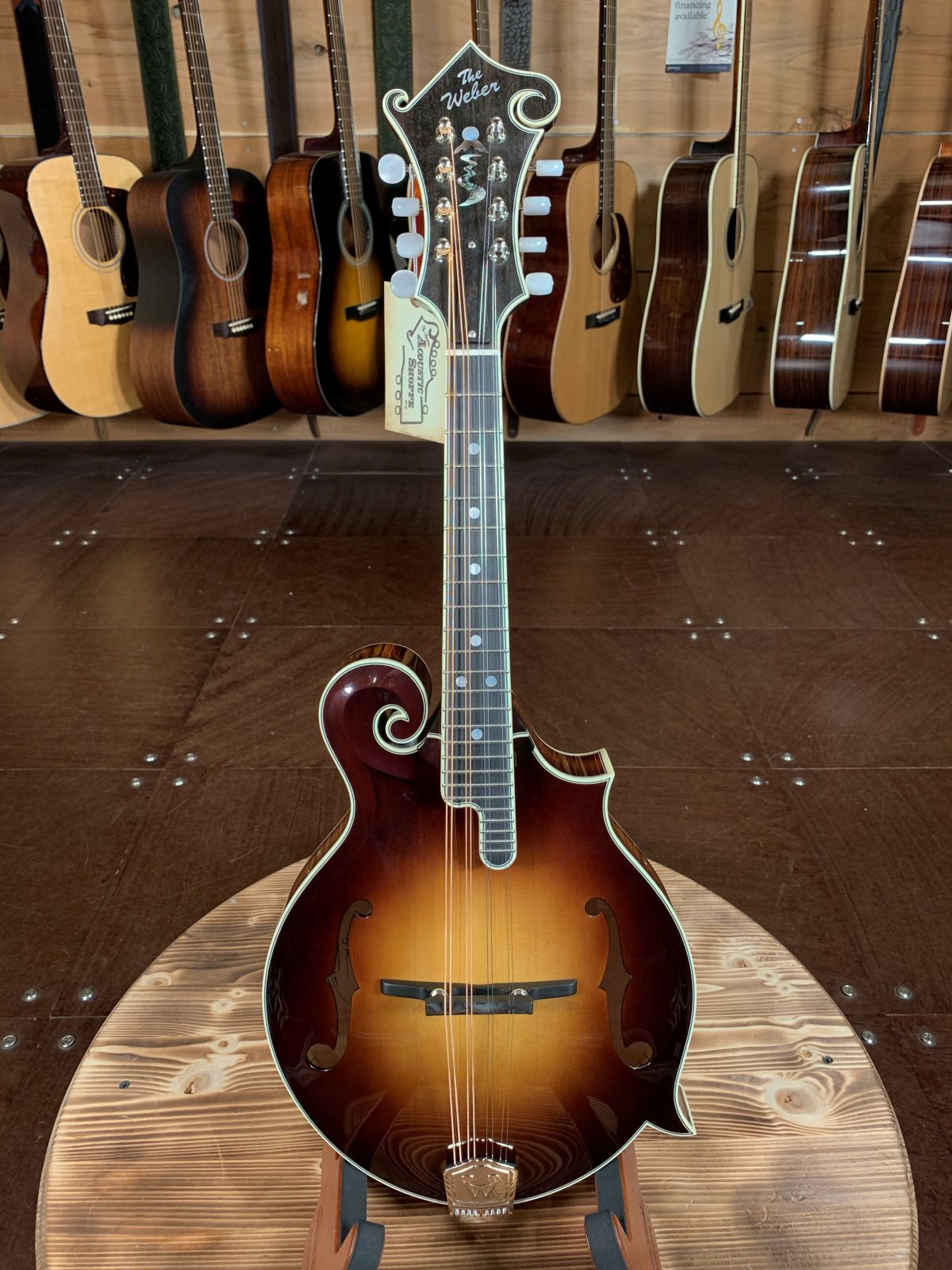 Weber Crooked River F-style Mandolin Limited Edition #5 of 5