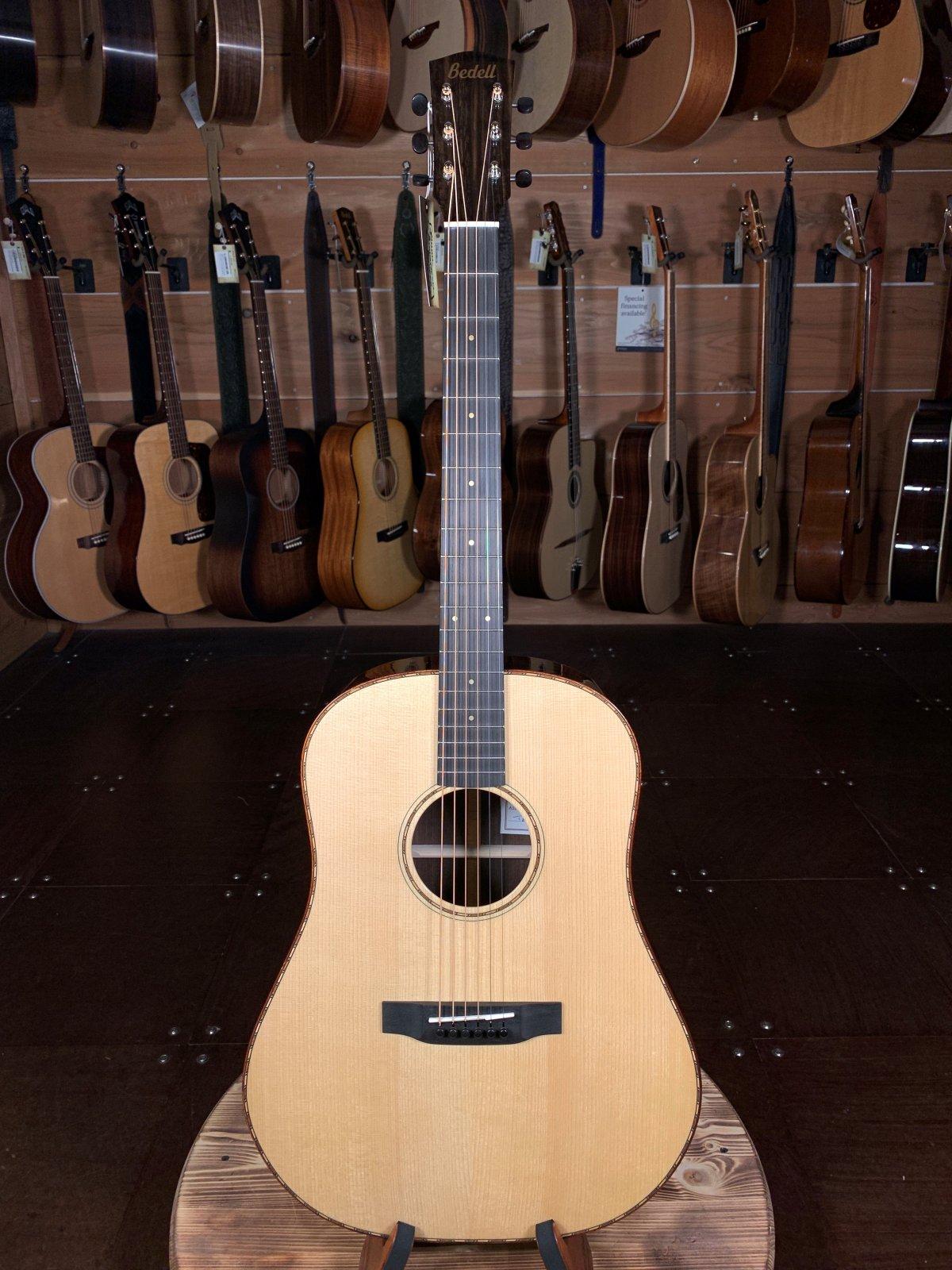 Bedell Bahia Dreadnaught Acoustic / Brazilian Rosewood & Adirondack Spruce #8021