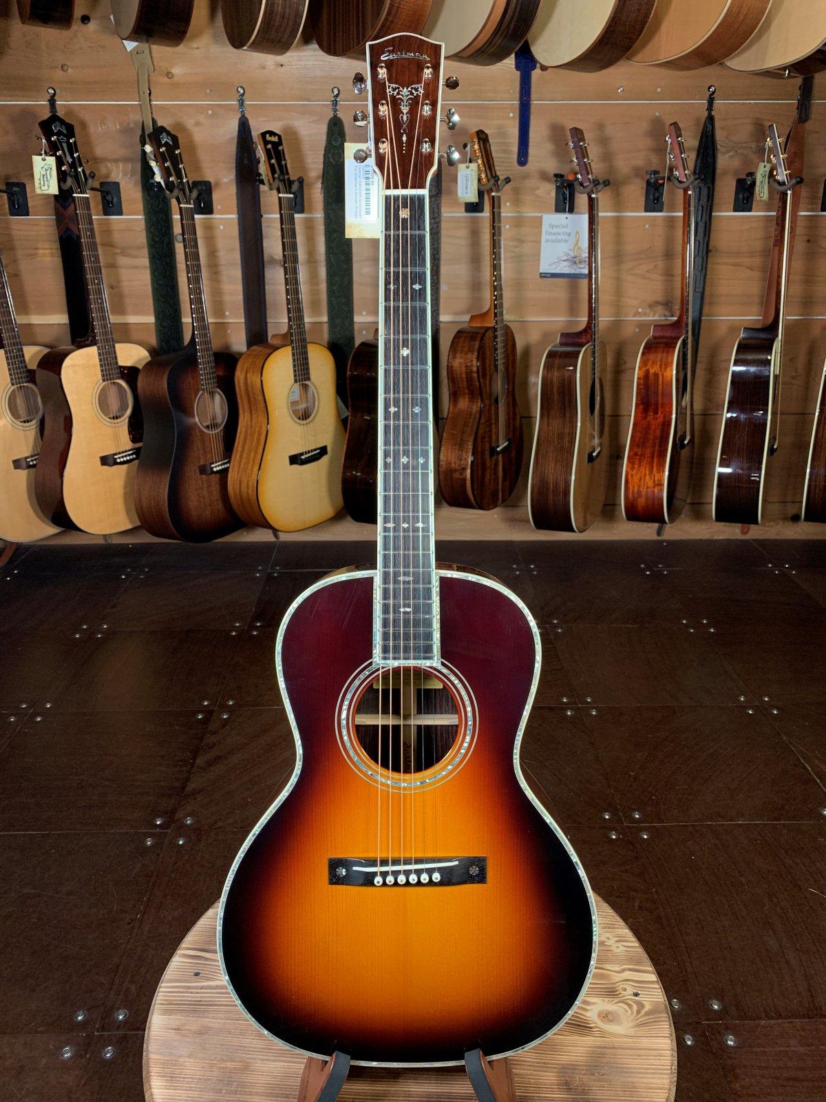 Eastman E40OOSS-SB Adirondack/Rosewood Slope Shoulder Sunburst Acoustic (One-Of-A-Kind) #0069