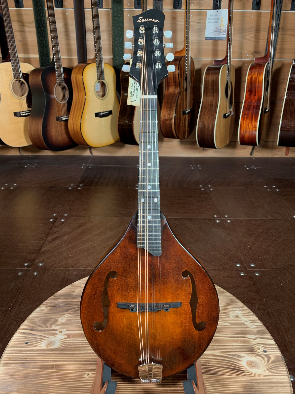 Eastman MD505CC/N Comfort Contour A Style Mandolin #3018
