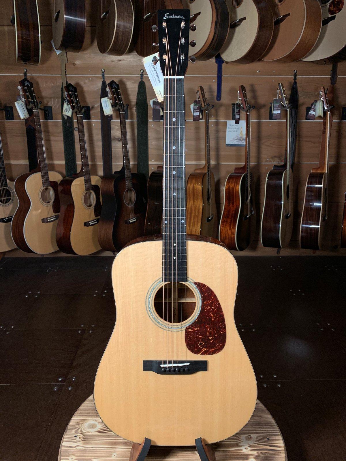 Eastman E6D Natural Dreadnought Acoustic #6871