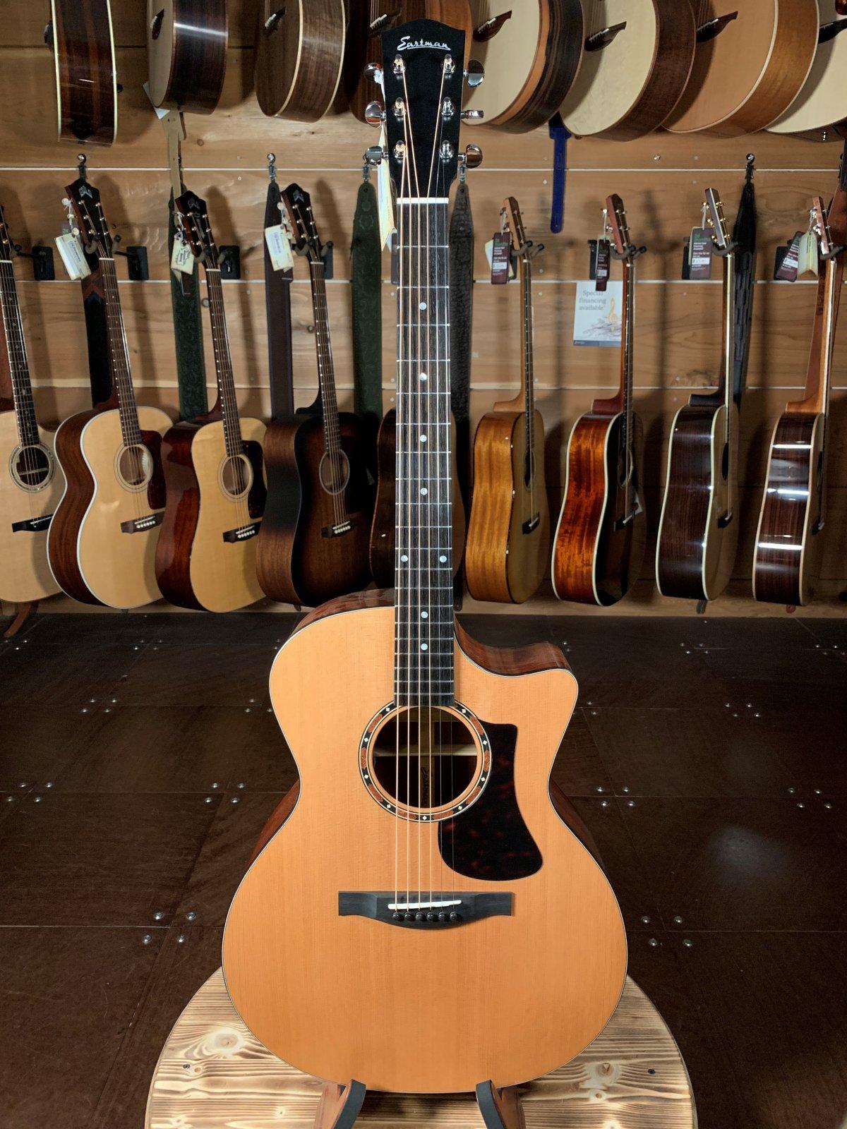 Eastman AC122-2CE Cedar Top Sapele Back & Sides Acoustic/Electric Guitar #7149