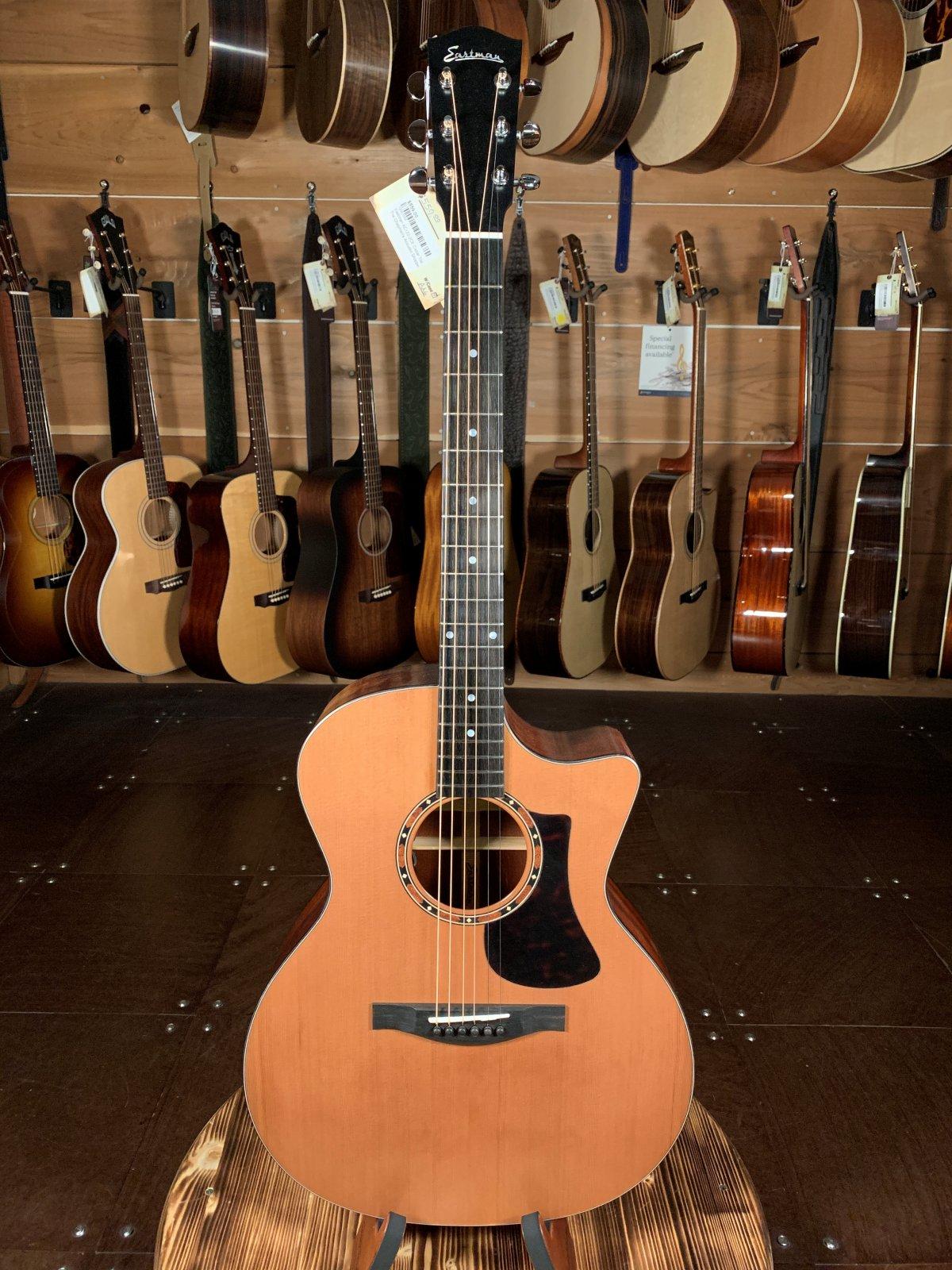 Eastman AC122-2CE Cedar Top Sapele Back & Sides Acoustic/Electric Guitar #7004