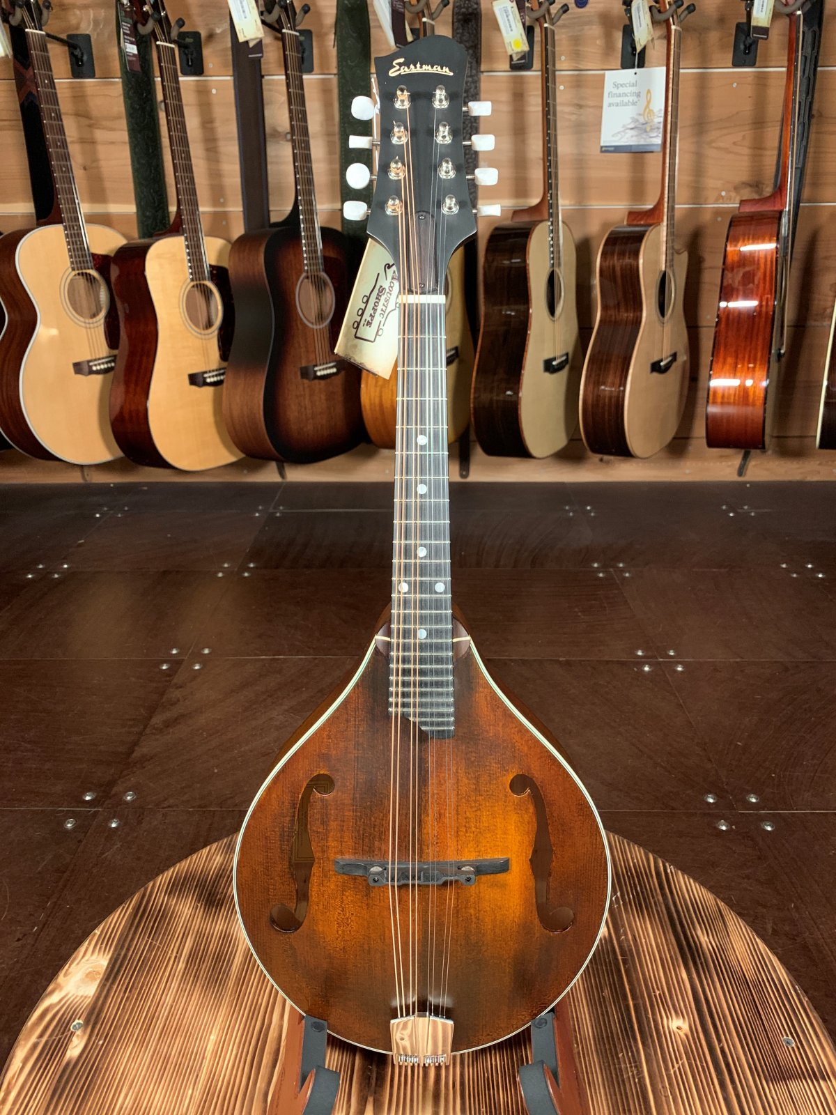 Eastman MD305 A-Style Hand-Carved Mandolin #2147